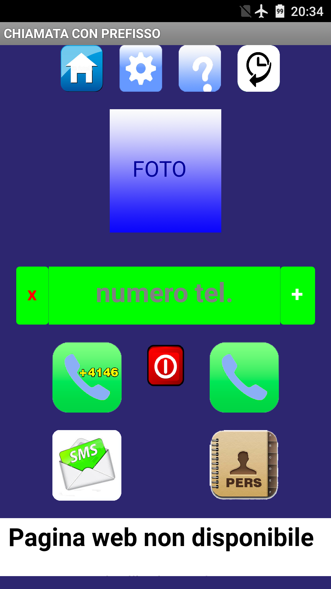 app android prefisso aziendale 4146